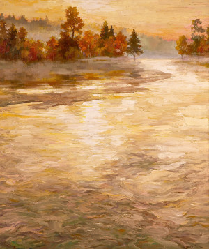 Поток осенний ленивых вод | Волков С.Р.