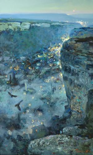 Вечерние огни старого Бахчисарая