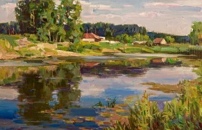 На реке Сельдь
