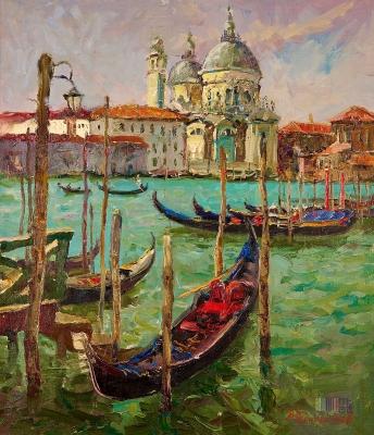 Венеция. Вид с площади Сан Марко